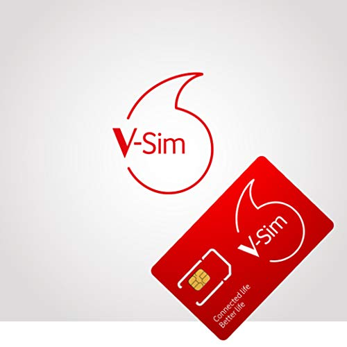 Vodafone V-SIM by Vodafone Bagage Cabine 8 Centimeters Rouge (Rot)