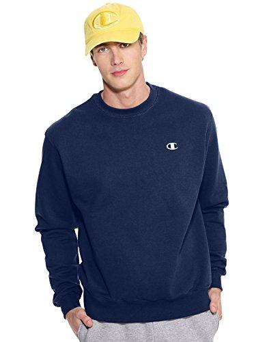 Champion Herren Sweatshirt blau S (Heavyweight Sweatshirt Champion)