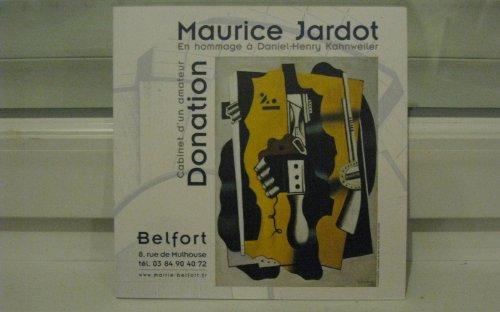 Donation Maurice Jardot : Cabinet d'un amateur en hommage  Daniel-Henry Kahnweiler