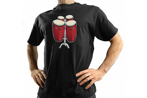T-SHIRT - BONGOS / BATTERY OPERATED SHIRT