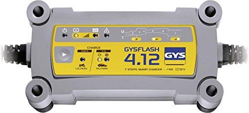 Gys GYS-029422-GYSFLASH GYSFLASH Chargeur/Maintien DE CHARGE-INVERTER-230V Livre avec Pinces ET COSSES DE Connexion, 4.12