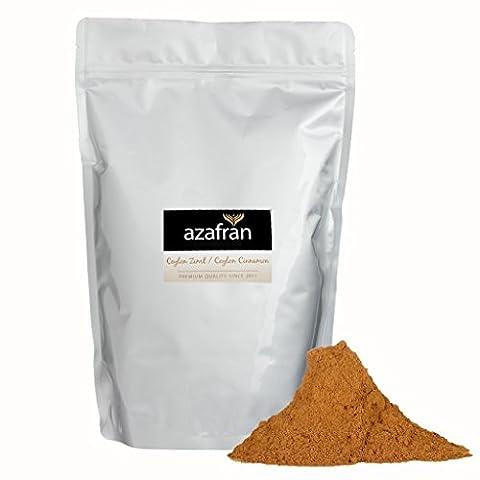 BIO-Ceylon Zimt gemahlen – Zimtpulver (500g) von Azafran® (Honig Zimtpulver)