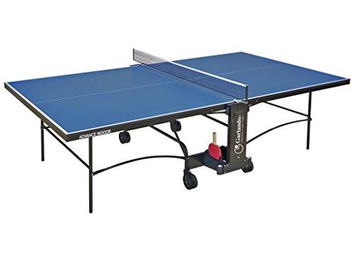 GARLANDO ADVANCE INDOOR BLU Tavolo ping pong per interno, Garanzia 3 anni