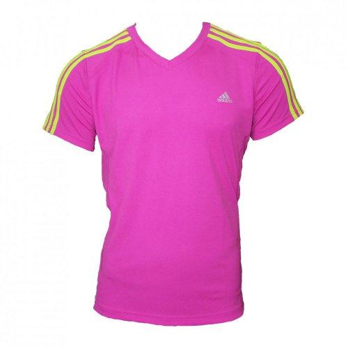 adidas Damen T-shirt Response, intenspnk/sl, 40, V11339-40 - Wieder Damen Rosa T-shirt