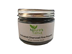 Activated Charcoal Fine Powder (From Coconut Source)- Jar Packaging (150g)