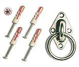 MI:KA:FIX Montage-Set aus Edelstahl | inkl. hochwertige Torx Edelstahl-Schrauben und...