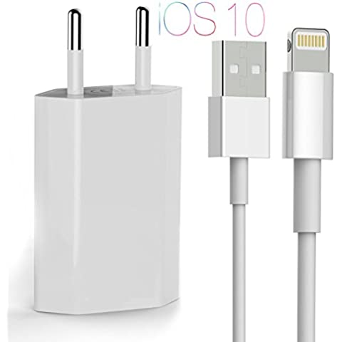 OKCS® Lightning Cargador Cable de Carga / Cable de Datos / Lightningcable + 1A USB iOS10 Alimentación para iPhone 7, 7 Plus, 6s, 6s Plus, 6, 6 Plus - en