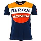 Honda Repsol Moto GP équipe Panel Bleu Marquez, Pedrosa T-shirt Officiel 2017