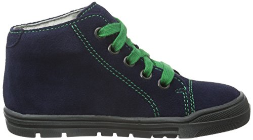 Richter Kinderschuhe Matic, Baskets Basses Garçon Bleu - Blau (atlantic 7200)