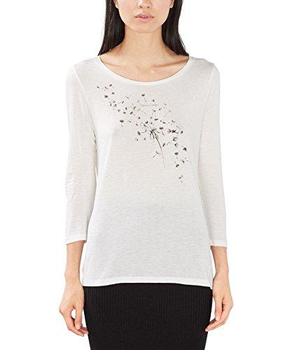 edc by ESPRIT 096CC1K028, T-shirt Donna, Grigio (ICE), 38 (Taglia Produttore: Medium)
