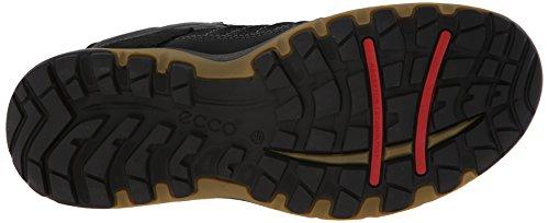 Ecco - Ulterra GoreTex, Chaussures montantes homme Noir (BLACK/DRIED TOBACCO58654)