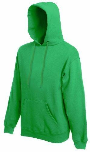 Fruit of the Loom - Kapuzen-Sweatshirt 'Hooded Sweat' L,Kelly Green
