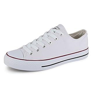 best-boots Damen Turnschuh Sneaker Slipper Weiß weiss 231 Größe 38