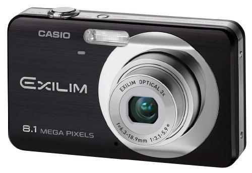 Casio EXILIM EX-Z80 BK Digitalkamera (8 Megapixel, 3-fach opt. Zoom, 2,6