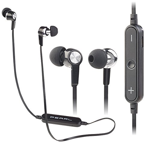 PEARL in Ear Stereo Headset: In-Ear-Headset IHS-75.bt mit Bluetooth 4.1 & 3-Tasten-Bedienteil (Headset Musik Hören, Bluetooth)