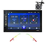 WWCAR 2 din 7 Zoll Android 6.0 Universal Auto Radio GPS Navigation StereoBluetooth in Dash Pc Video 1G RAM WiFi USB-Bunte Schlüssel Lichter