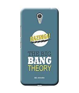 Be Awara Bazinga Back Cover Case for Lenovo Zuk Z1