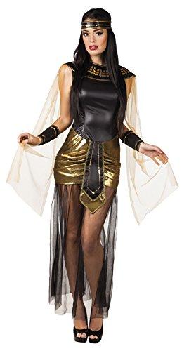 erdbeerloft - Damen Kostüm Cleopatra- Minikleid - Tüll, Mehrfarbig, Größe L (Damen Hut Mit Kreuz)