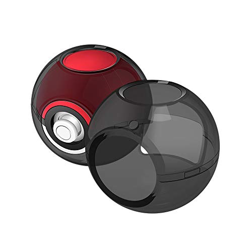Schutzhülle für Nintendo Switch Poke Ball Plus Controller Hoyxel XD23 Crystal Protector Case Anti-Kratzer Pokémon Zubehör Kit kompatibel mit Nintendo Switch Let's Go, Eevee Game Schwarz - Controller Crystal Case