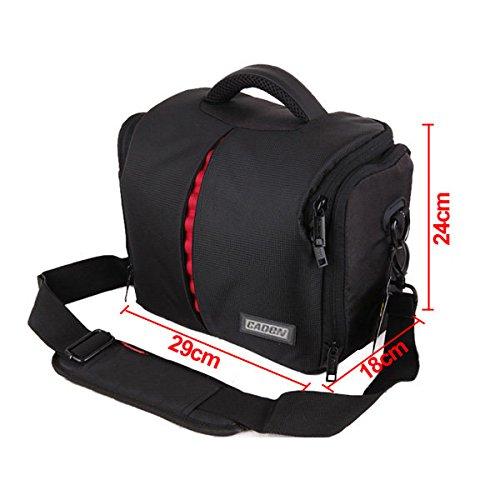 Doradus Large Size Kamera Tasche für Canon DSLR Rebel T3i 500D 550D 600D (Rebel T3i Dslr)
