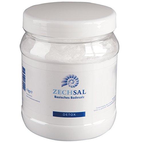 Zechsal Basisches Badesalz (1kg) [Natron - Perfekt in Kombination mit Zechsal Magnesium Bädern]