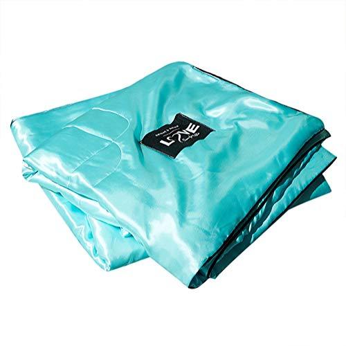 Sommer Quilt, waschbar Green Ice Silk Klimaanlage Comfoter Quilt Blanket Cover für Kinder Erwachsene Einfach zu Falten und zu tragen (150 * 200cm) -