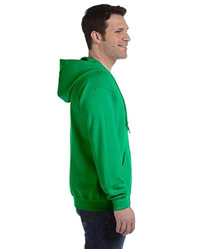 HeavyBlend ™ full zip sweat à capuche vert irlandais