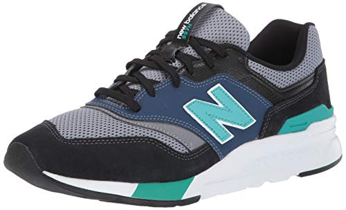 New Balance Cm997hv1, Zapatillas para Hombre, Blanco (White/Black White/Black), 43 EU