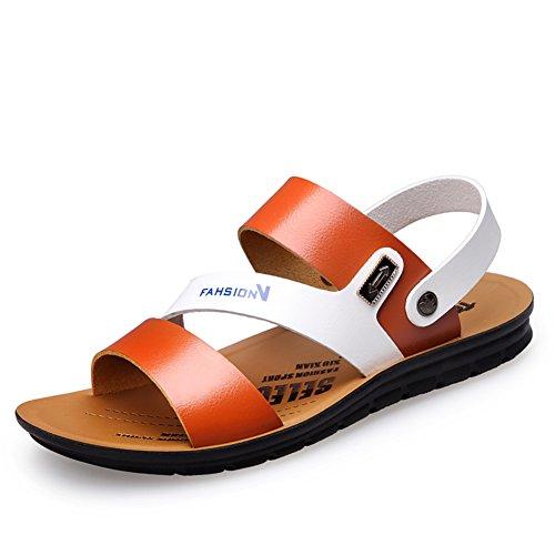 Männer rutschfeste sandalen im sommer/Outdoor pantoffel strand schuhe C