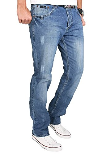 Rock Creek Herren Jeans Hose RC-2009 W38 L34