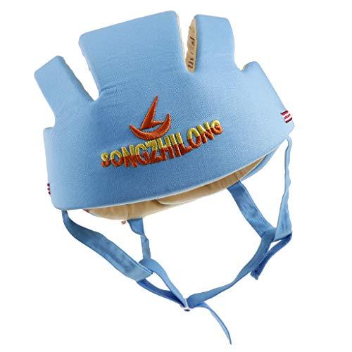 B Baosity Babyhelm Baby Schutzhelm Kopfschutzmütze für Kleinkind Laufen oder Spielen - Blau