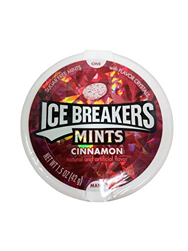Ice Breakers Cinnamon Mints 1.5 oz (42g)