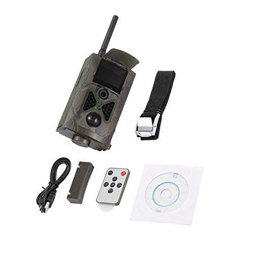 Dynamovolition Drahtlose Jagd Kameras 500 Mt HD 1080 P GSM Mms GPRS SMS Steuerung Scouting Digitale Infrarot Trail Hunter Cam Kamera (Gsm-cam)
