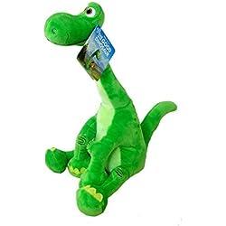 El viaje de Arlo - Peluche ARLO SENTADO (dinosaurio verde «El viaje de Arlo») 25 cm- The good dinosaur. Calidad super soft.