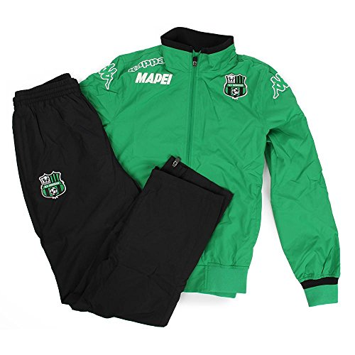 Official Tracksuit Verde Nero 15/16 Sassuolo Kappa TG. L Verde Nero