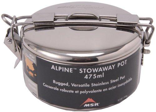 MSR Alpine Stowaway cookware grey 2014 pan