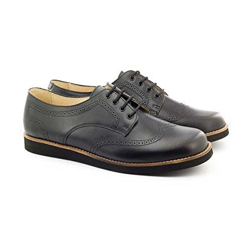 Boni Arthur - chaussure garçon en cuir noir