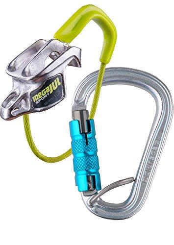 Edelrid Mega Jul Sport Belay Kit Steel Sicherungsgerät Klettern Kletter-seil-kit