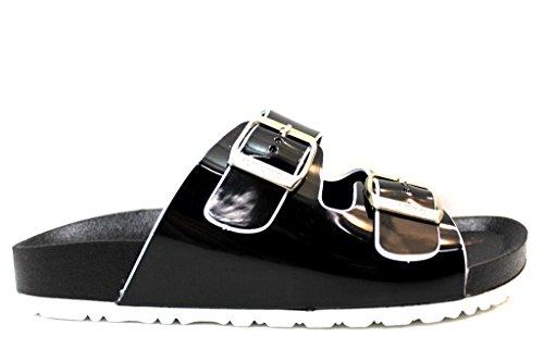YAMAMAY YASC1A002VER Scarpe Sandali Donna Bambina Calzature Flat Shoes