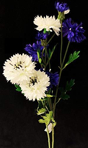 PERAGASHOP 1 maillet de Fleuriste Blanc et Bleu pour compositions 60 cm Fleurs Plantes
