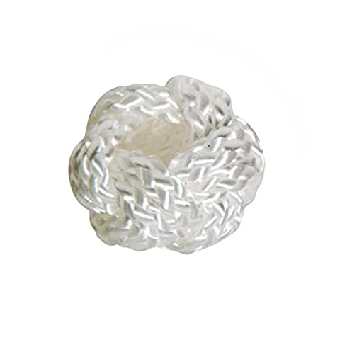 Modas Makrameeknoten, Farbe:weiß