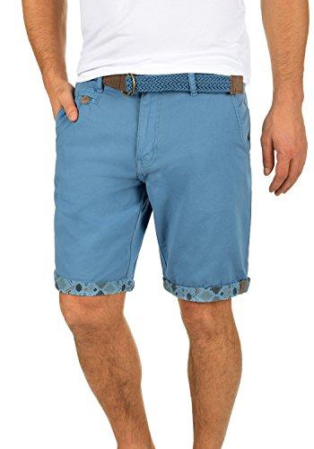 INDICODE Inka Shorts, Größe:L;Farbe:Parisian Blue - Herren Tank Mit Gürtel Top