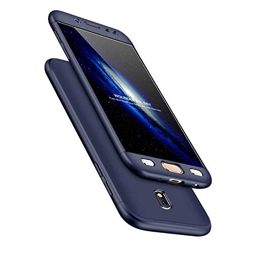 Für Galaxy S8 Hülle,Galaxy S8 360 Grad Hülle, Uposao [360 Grad Komplett Schutz] [Ultra Dünn] Hülle Hardcase 360 Full Body Schutz Handyhülle Komplettschutz Front + Back Rundum Double Beidseitiger Sch