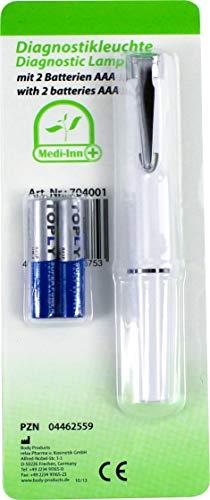 Diagnostikleuchte mit 2 Batterien AAA Diagnose Leuchte von Medi-Inn PZN 04462559