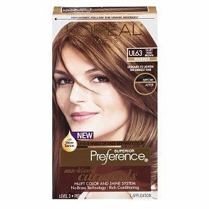 loreal systme brillance et anti affadissement de couleur superior preference les caramels - Coloration Chatain Dor