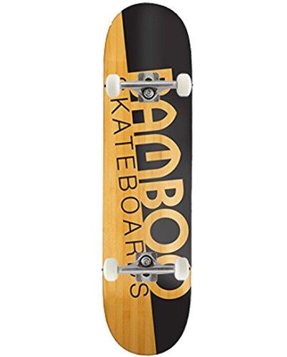Bamboo Skateboards Slash Graphic 21cm komplett Skateboard Bambus, Natur, mittel