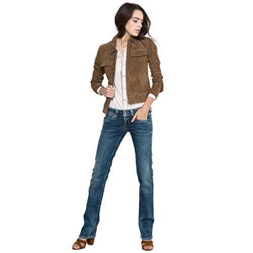 Pepe Jeans Donna Jeans Bootcut Banji Di Pepe Jeans Taglia 24 Blu