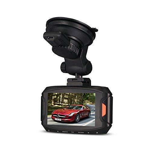 olayer G90Auto Kamera DVR Recorder Ambarella A7Dash Cam 5MP FULL HD 2,7'LCD 170Weitwinkel-Objektiv Auto DVR HDR G-Sensor Video Cam (Dash A7 Cam)