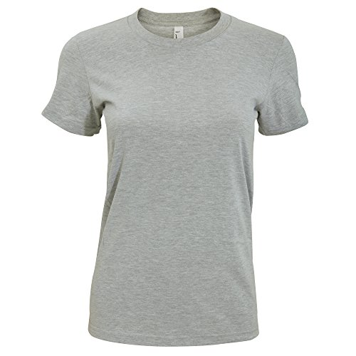 american-apparel-t-shirt-a-manches-courtes-femme-m-gris