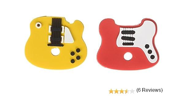 Cool Design Rock Star per le chiavi in chiave schl/üssel/überzieher forma di chitarra